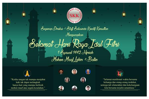 Selamat Hari Raya Idul Fitri 1 Syawal 1442 Hijriah Mohon Maaf lahir dan Batin