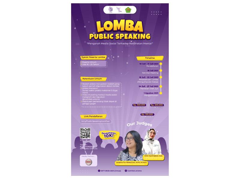 Lomba Public Speaking