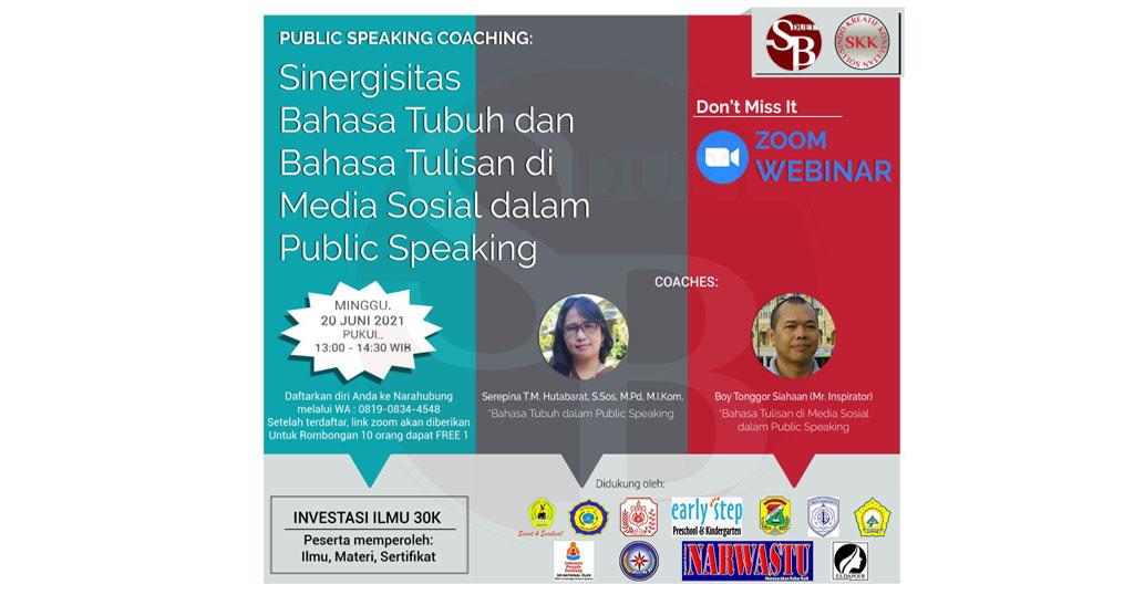 Sinergisitas Bahasa Tubuh dan Bahasa Tulisan di Media Sosial